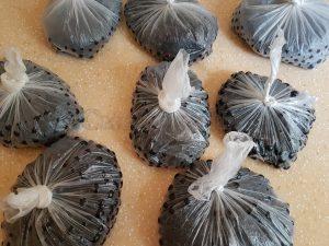 Хранение замороенной смородины в пакетах